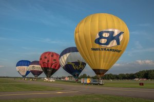 Ballonvaart vrijdag 15 juni