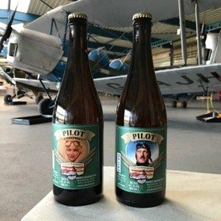 CC&A Pilotenbier; 2 flesjes 0,75 cl