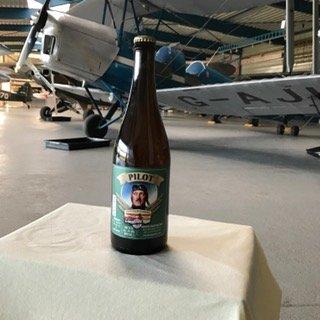 CC&A Pilotenbier; 1 flesje 0,75cl
