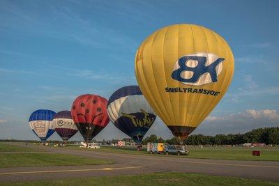 Ballonvaart zaterdag 16 juni
